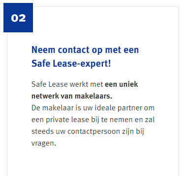 safe lease stap 2